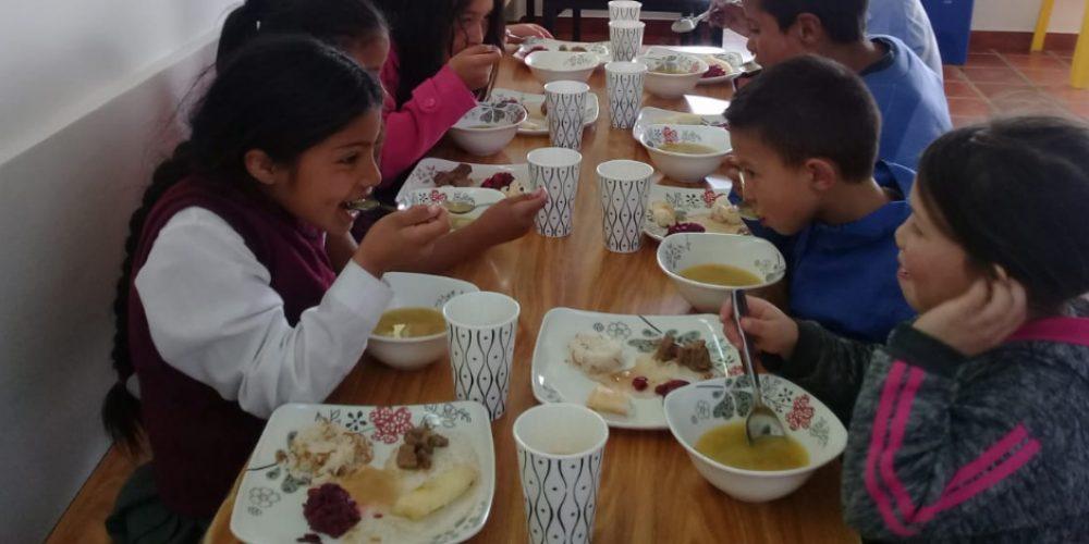 Inauguración Comedor Escolar Verbenal. Ciudad Bolívar